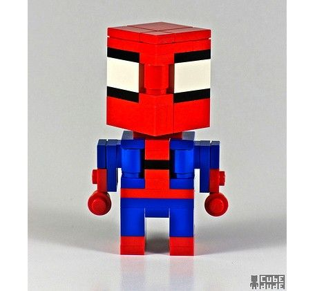spiderman-superhero-lego-art