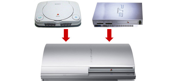 PS2 and PS1 at PS3