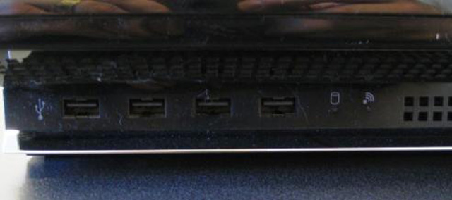 USB Ports sony ps3