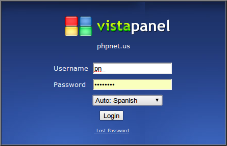 Pantallazo-phpnet.us panel - Google Chrome