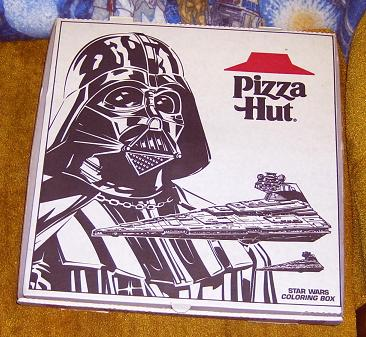 Pizza Hut - Darth Vader