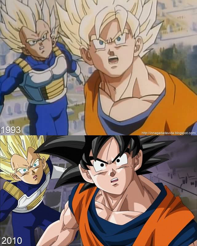 comparison dbz gaiden 2