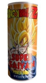 Drink Energy For Saiyans