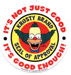 Krusty Seal of Approval