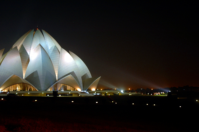 Lotus Temple at New Delhi