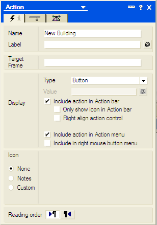 Lotus notes-view action
